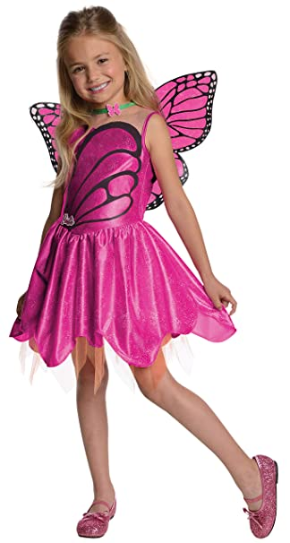 d26971c28e8 Barbie Fairytopia Mariposa and Her Butterfly Fairy Friends Halloween  Sensations Mariposa Costume, Toddler 1-2