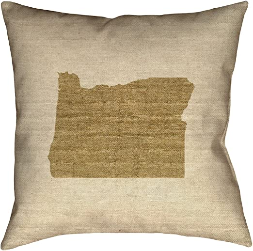 ArtVerse Katelyn Smith 20 x 20 Spun Polyester New Jersey Pillow