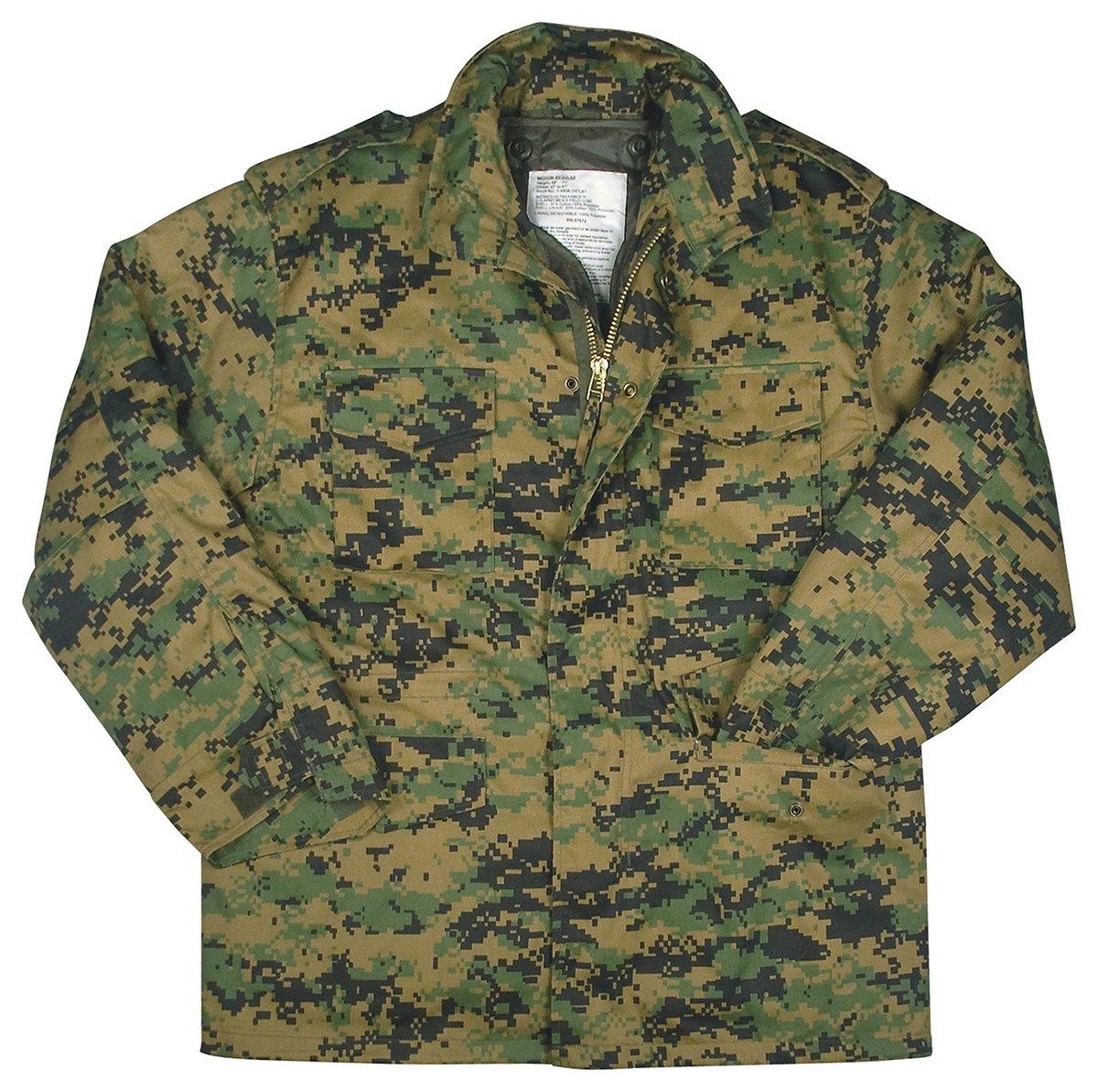 f89bcadf970cf Amazon.com: Rothco M-65 Field Jacket - Woodland Digital: Sports & Outdoors