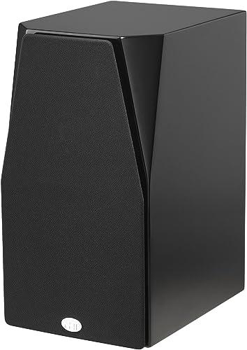 NHT C Series C-3 3-Way Bookshelf Speaker, Single, High Gloss Black