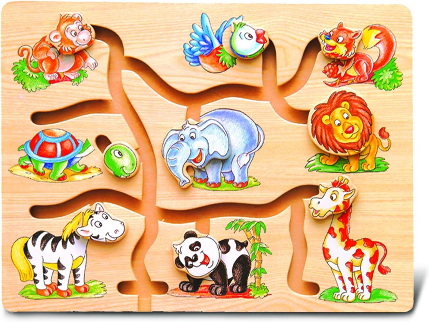 Amazon.com: Maze Puzzle - Animals: Toys & Games
