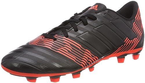 78ddcc0c2 Adidas Men s Nemeziz 17.4 FxG Cblack Cblack Solred Football Boots - 7 UK