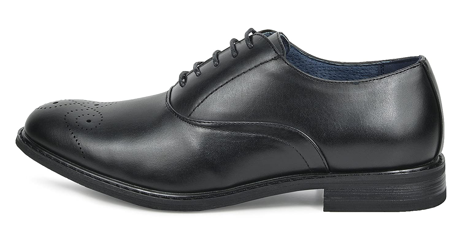 Bruno Marc Mens Leather Lined Dress Oxfords Shoes