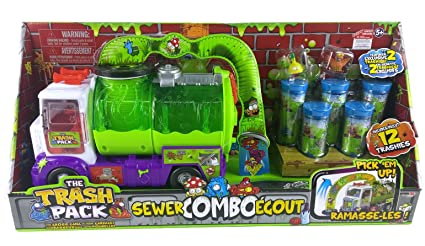 The Trash Pack Sewer Truck 7 Junk Germs Review Holiday Gift