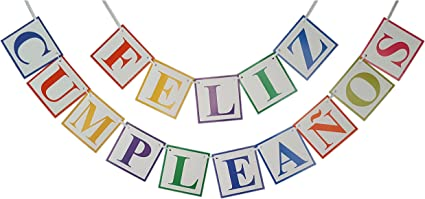 Fly High Party Supply Feliz Cumpleanos Banner