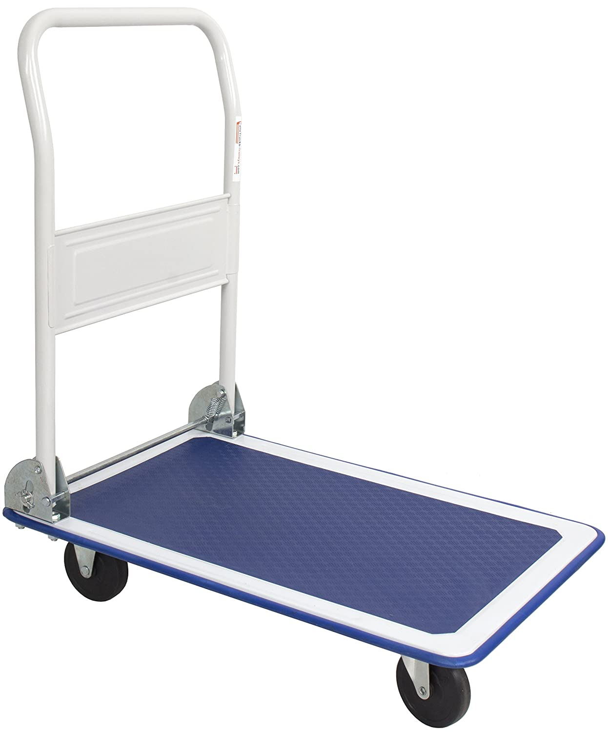 300kg Folding Flat Bed Platform Hand Trolley Truck Sack Barrow SafetyLiftinGear