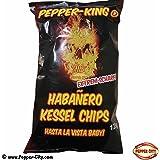 Pepper-King - Habanero Kartoffelchips - 125g