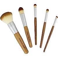 Bamboo Naturals Makeup Brushes, 5 PC
