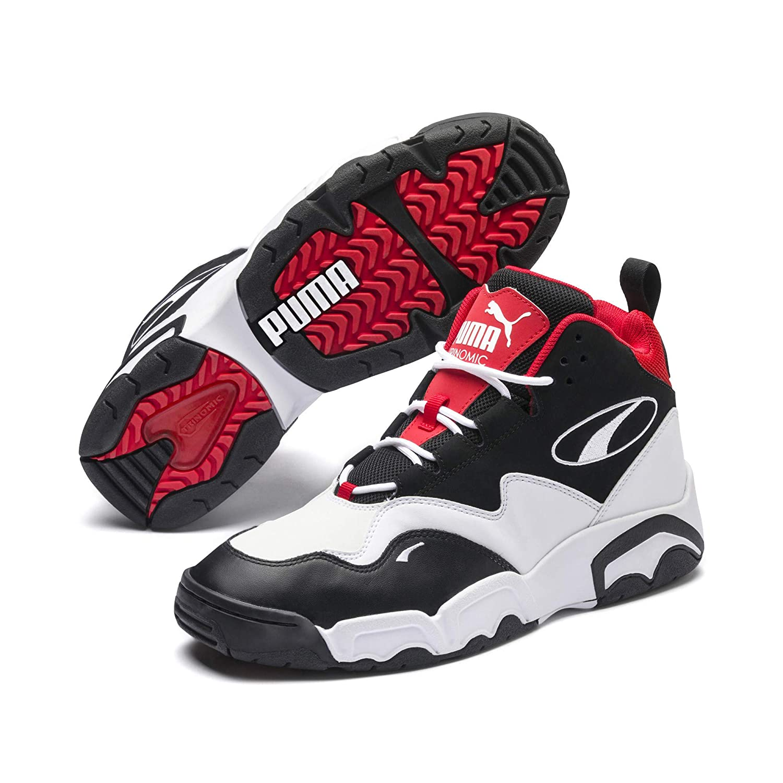 Source Mid Black White-high Ri Sneakers