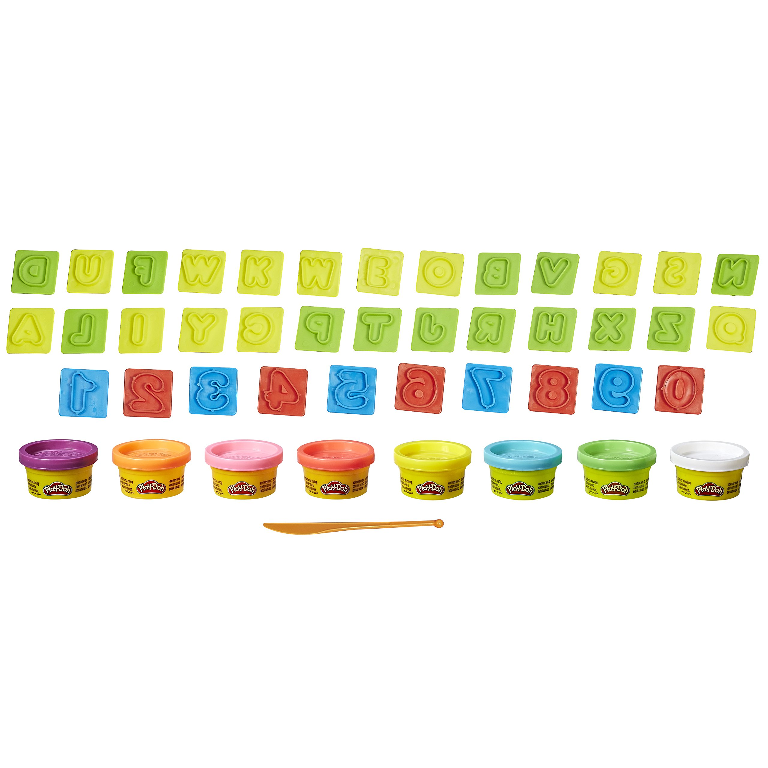 Hasbro Play Doh Numbers and Letters 8 Tub Fun Pack
