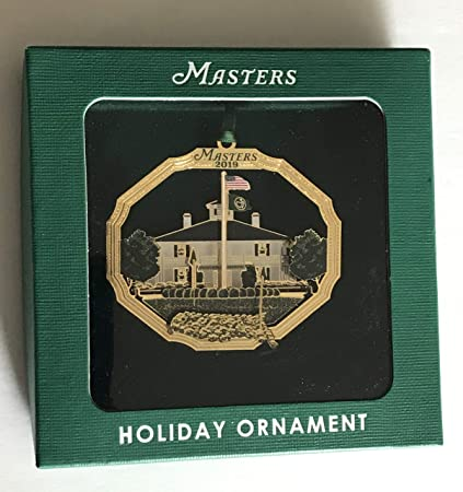National Christmas Tree 2019.Amazon Com 2019 Masters Golf Ornament Augusta National