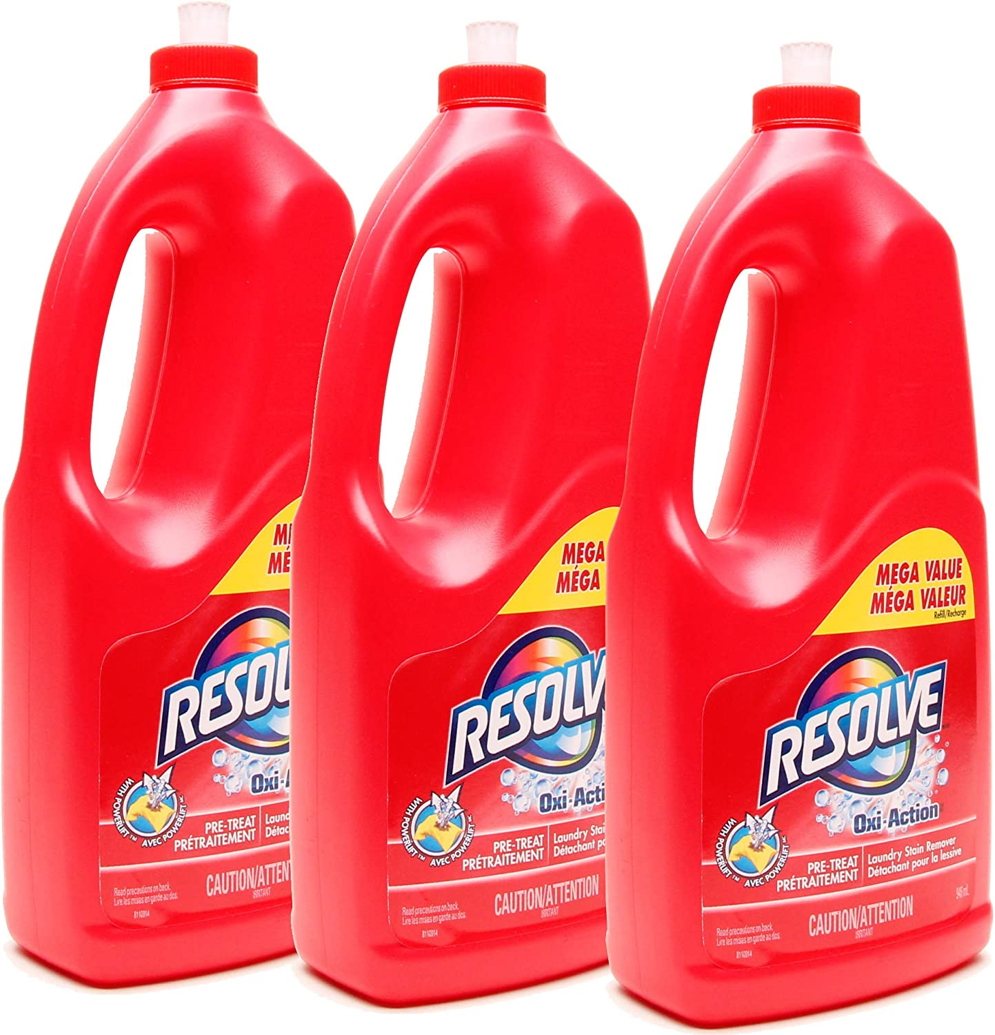 Resolve Oxi-Action Laundry Stain Remover- 946 ml (Pack of 3)