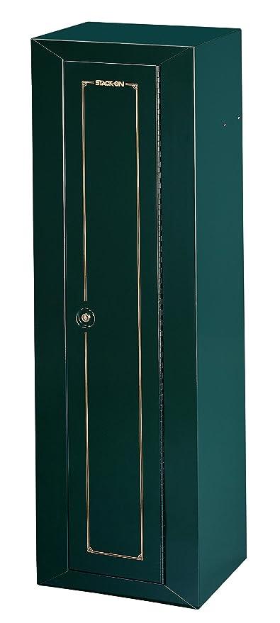 Gun Security Cabinet >> Amazon Com Stack On Gcg 910 Steel 10 Gun Security Cabinet Green