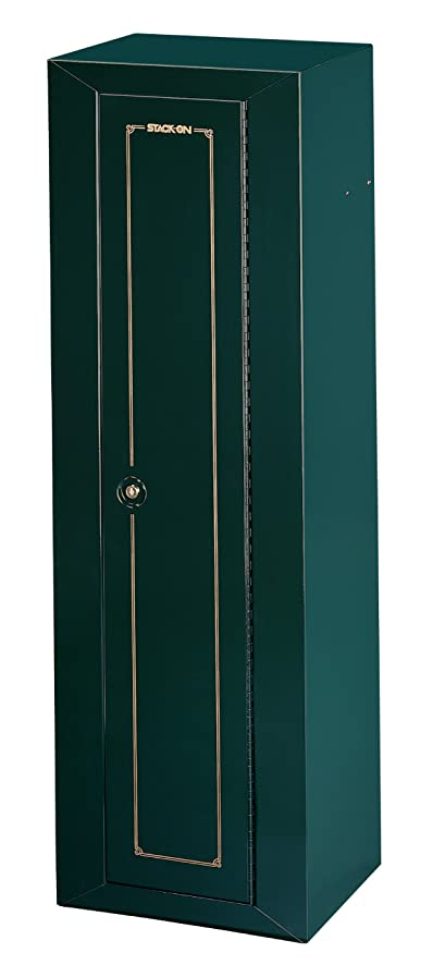 Amazon.com: Stack-On GCG-910 Steel 10-Gun Security Cabinet, Green ...
