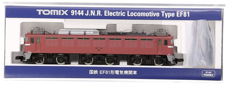 TOMIX Nゲージ EF81 9144 鉄道模型 電気機関車 B00BOEF3LW