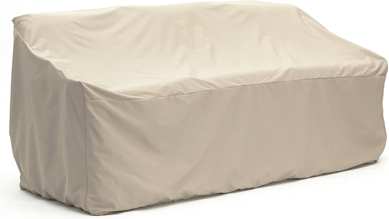 Covermates Outdoor Patio Sofa Cover Heavy Duty Material Water and Weather Resistant Patio Furniture Covers – Khaki