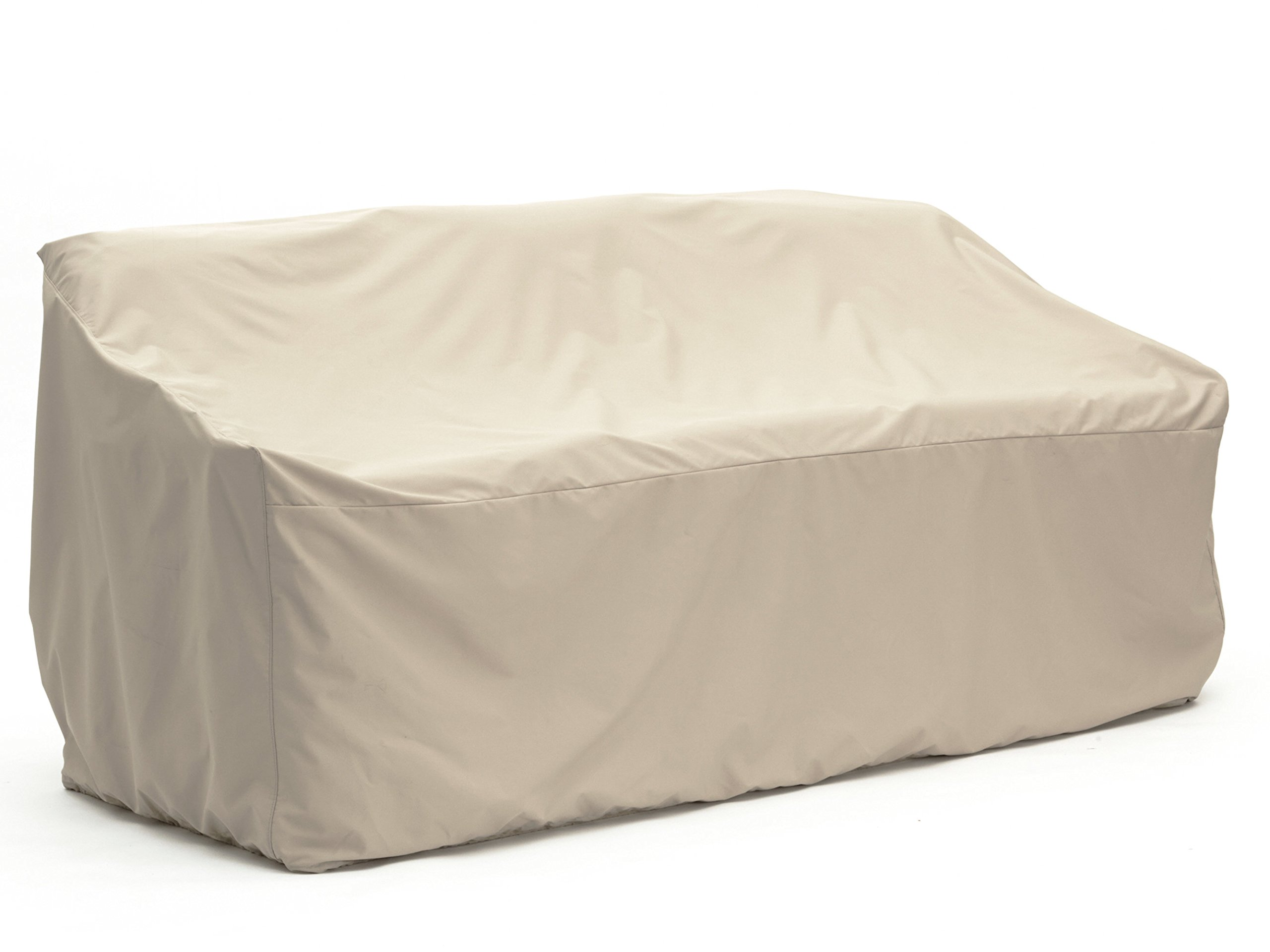 Covermates - Outdoor Patio Sofa Cover - 82W x 40D x 40H - Elite Collection - 3 YR Warranty - Year Around Protection - Khaki by Covermates
