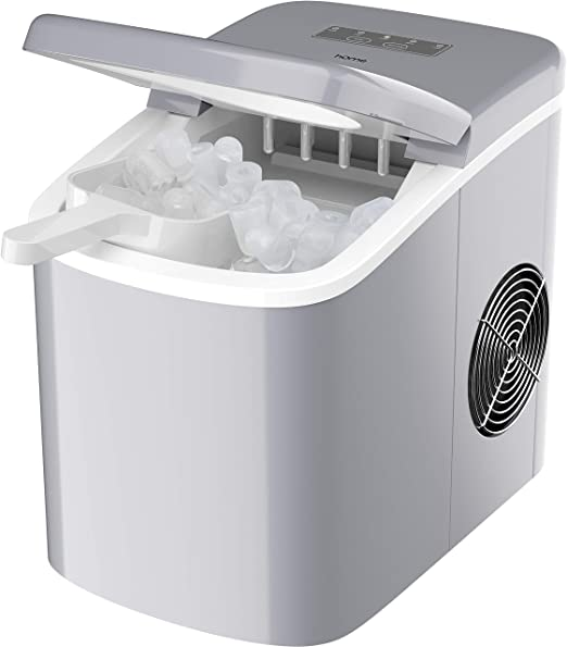 Homelabs Chill Pill Countertop Ice Maker Perfect Ice In 8 To 10 Minutes 26 Pounds Per Day Production To Keep You Iced Out Of Your Mind Appliances
