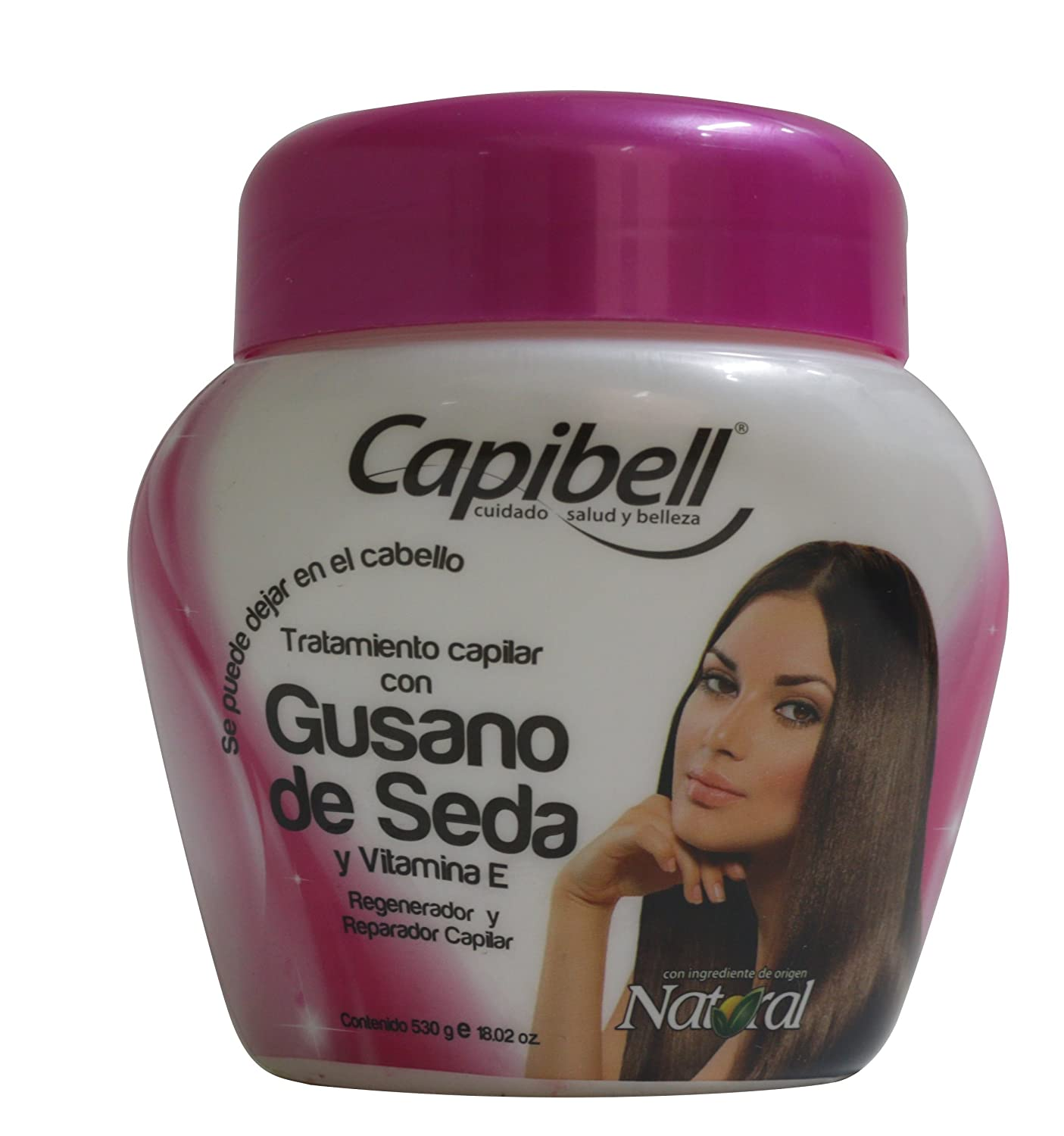 Amazon.com : Capibell Tratamiento Gusano De Seda / Silkworm Treatment 530gr/ 18.02 : Beauty