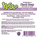 Kandoo BrightFoam Moisturizing Kids Foaming Hand