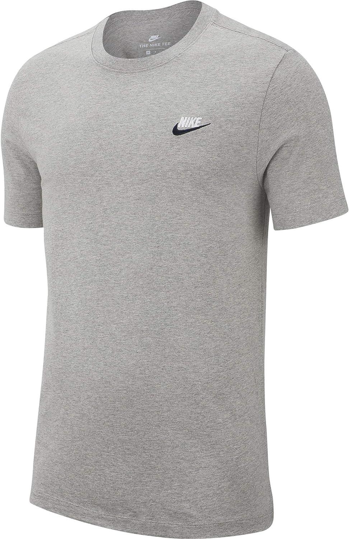 NIKE Club tee - Camiseta Hombre: Amazon.es: Ropa y accesorios