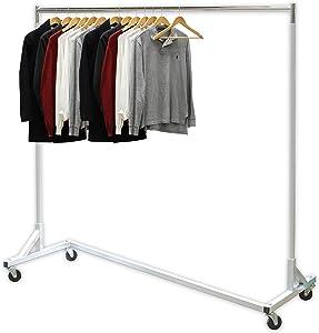 Simple Houseware Industrial Grade Z-Base Garment Rack