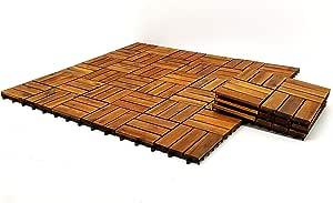 Wood flooring 12 pieces