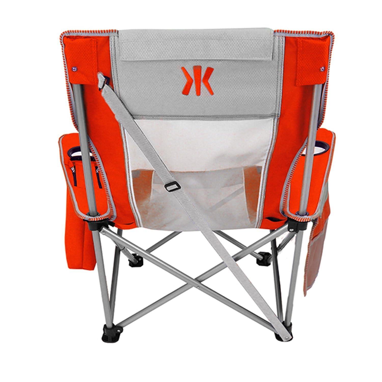 Beach sling chair - Amazon Com Kijaro Coast Beach Sling Chair Fiji Sunset Orange Sports Outdoors