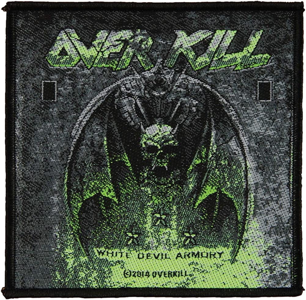 White Devil Armoury Patch 10cm x 10cm Overkill