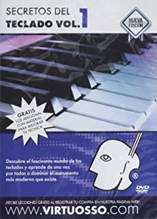Virtuosso Musical Keyboard Method for Beginners Vol.1 (Curso De Teclados Para Principiantes Vol