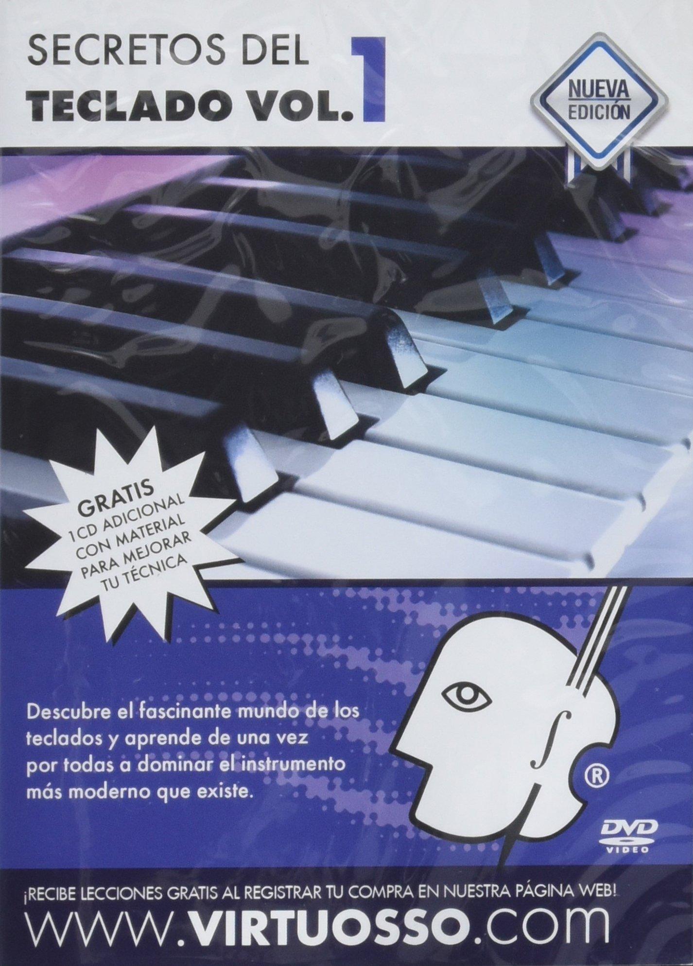 Virtuosso Musical Keyboard Method for Beginners Vol.1 (Curso De Teclados Para Principiantes Vol.1) SPANISH ONLY by Virtuosso