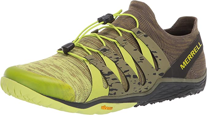 Merrell Trail Glove 5 3D, Zapatillas Deportivas para Interior para Hombre, Multicolor (Lime Punch), 44 EU: Amazon.es: Zapatos y complementos