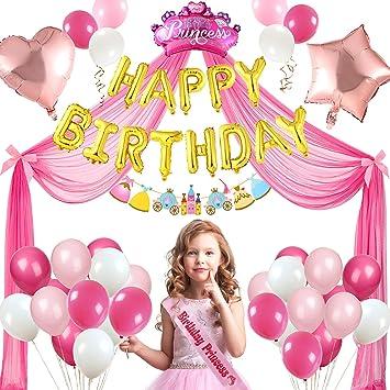 abbastanza Tacobear Decorazioni Compleanno Festa per Bambina con Palloncini BM27