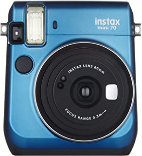 Photo Instant Films Stickers Blue Corner Stickers Various Frames Includes: Camera Case with Adjustable Strap Book Album Neewer 56-in-1 Accessory Kit for Fujifilm Instax Mini 70 Color Filters
