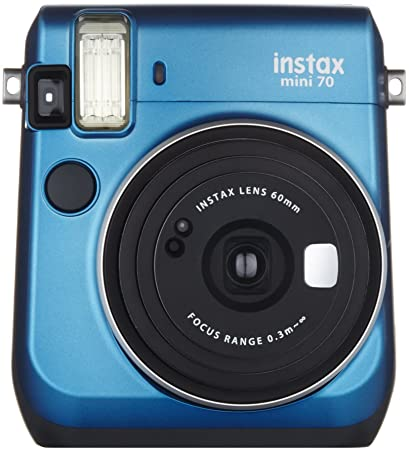 bb0697dca2 Amazon.com : Fujifilm Instax Mini 70 - Instant Film Camera (Blue) : Camera  & Photo