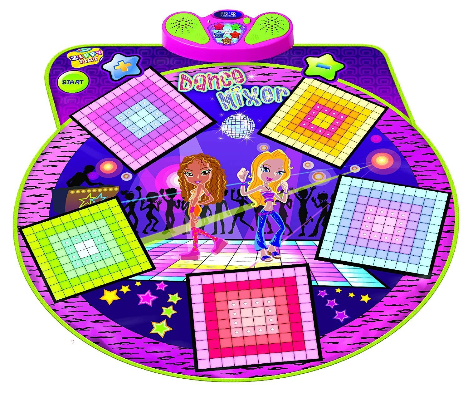 Dance Playmat Toys, Challenge Rhythm & Beat Dancing Mat, Smart Musical Pad for Babies and Children Infants with Kids' Playing Games
