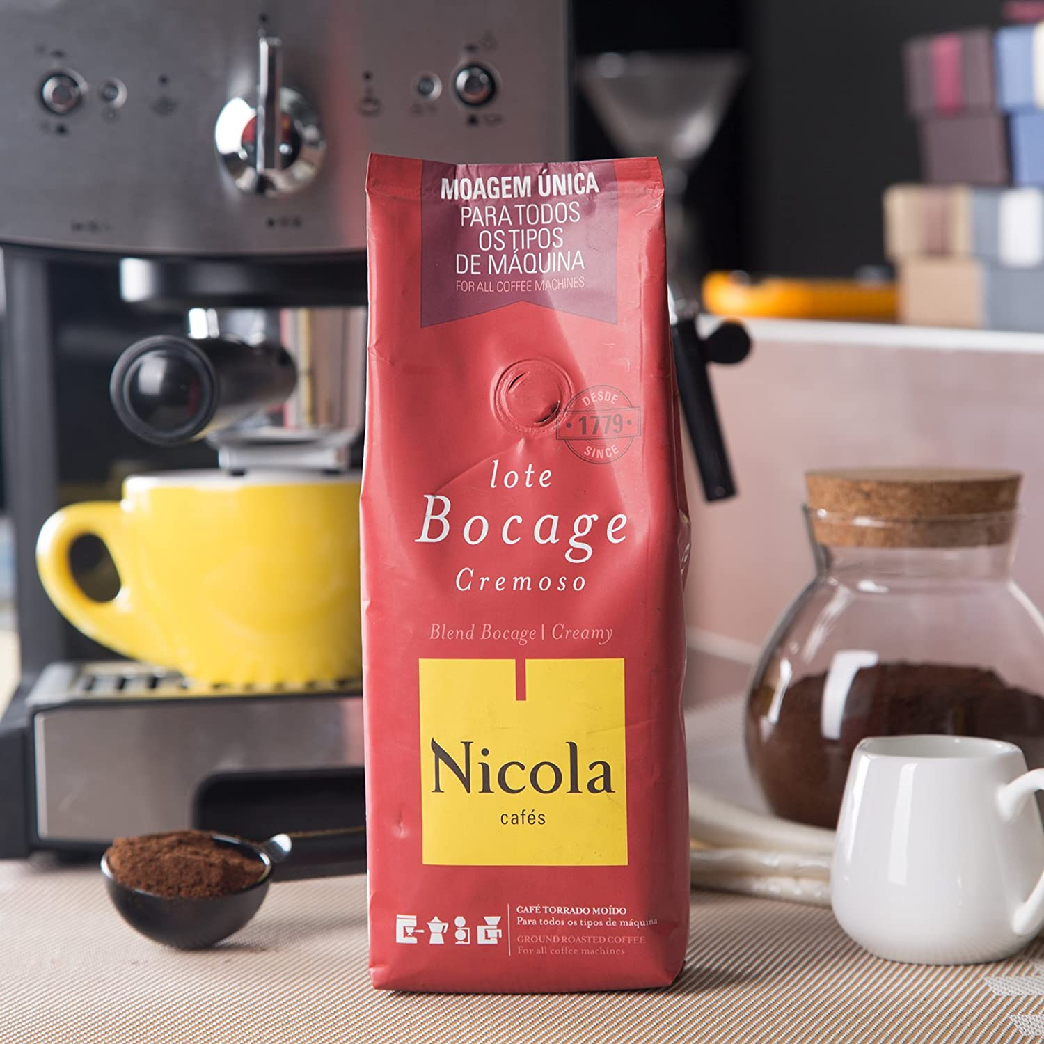 Amazon.com : Nicola Premium Ground Coffee (Creamy, Pack of 1) : Grocery & Gourmet Food