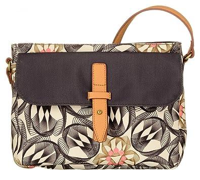 Damen M Shoulder Bag Umhängetasche, Grau (Charcoal), 7x23x31 cm Oilily
