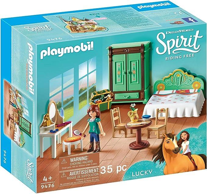 Amazon.es: PLAYMOBIL DreamWorks Spirit Habitación de Fortu, a ...