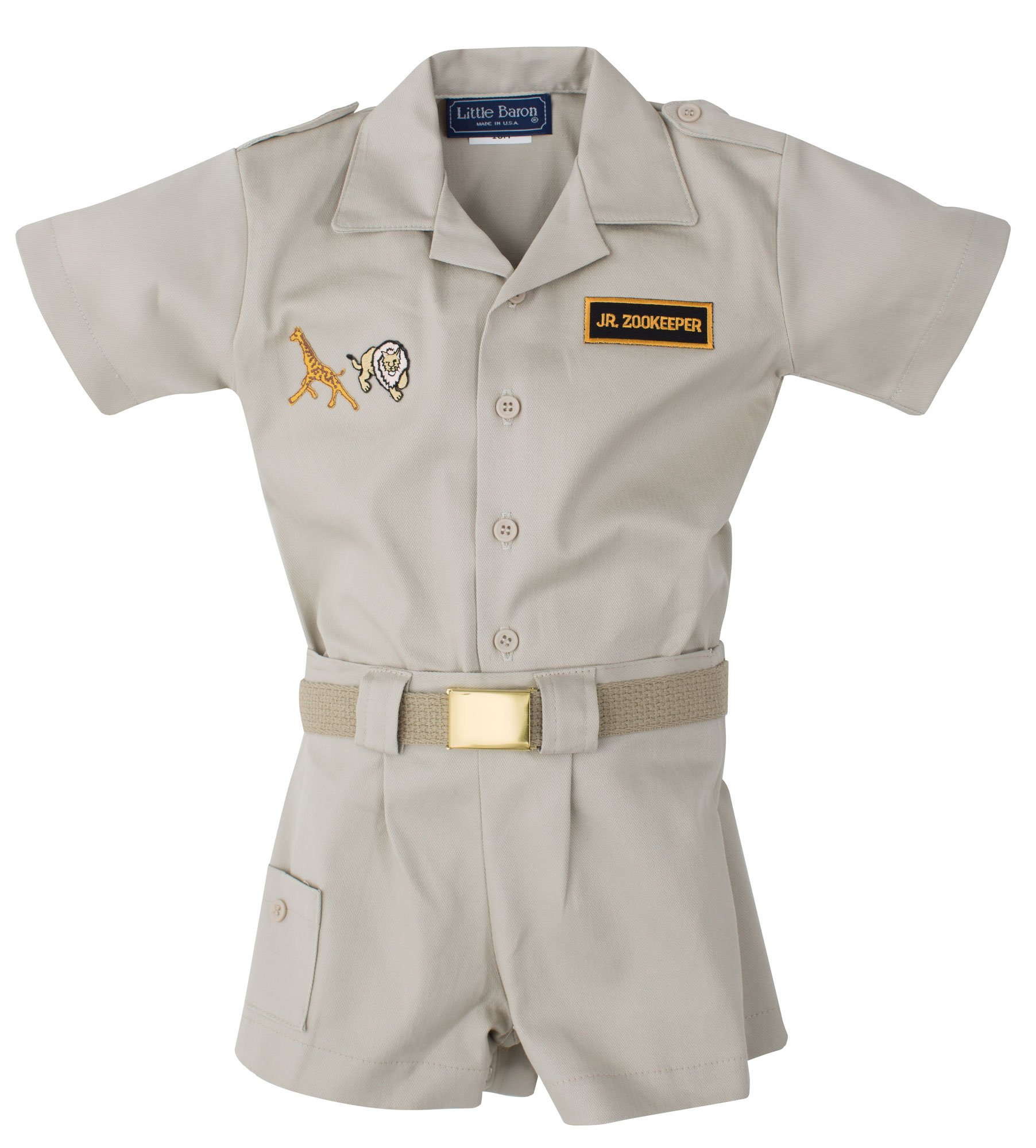 Infant & Toddler Zoo Keeper Outfit (24 Mo.)