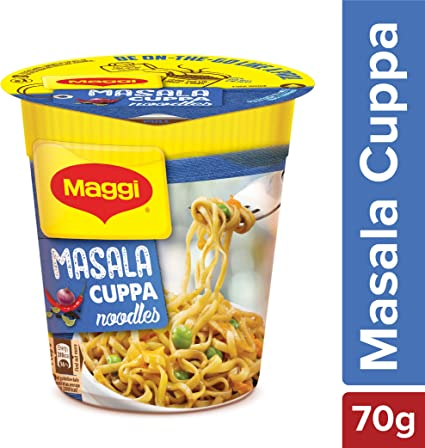 Maggi Nestle Cuppa Noodles, Masala � 70g Cup