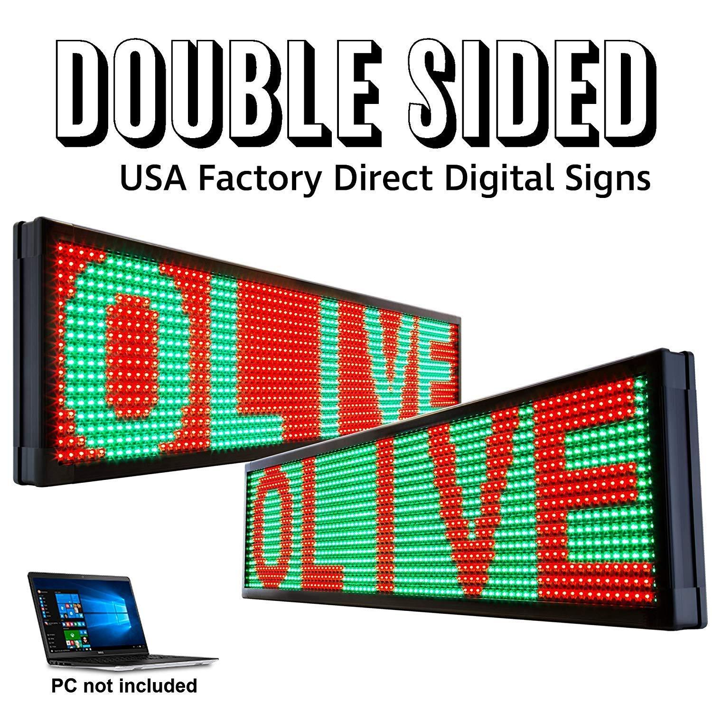 OLIVE LED Lighting, Inc - Cartel de neón con luces LED para ...