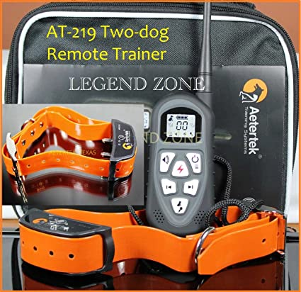 Aetertek AT-219 (UPGRADED NEW VERSION) LCD Display Remote Control 4-in 7c34e5279c6