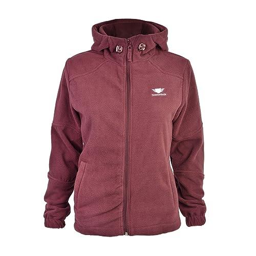 Slimbridge Grandola L chaqueta de lana de las mujeres, Púrpura