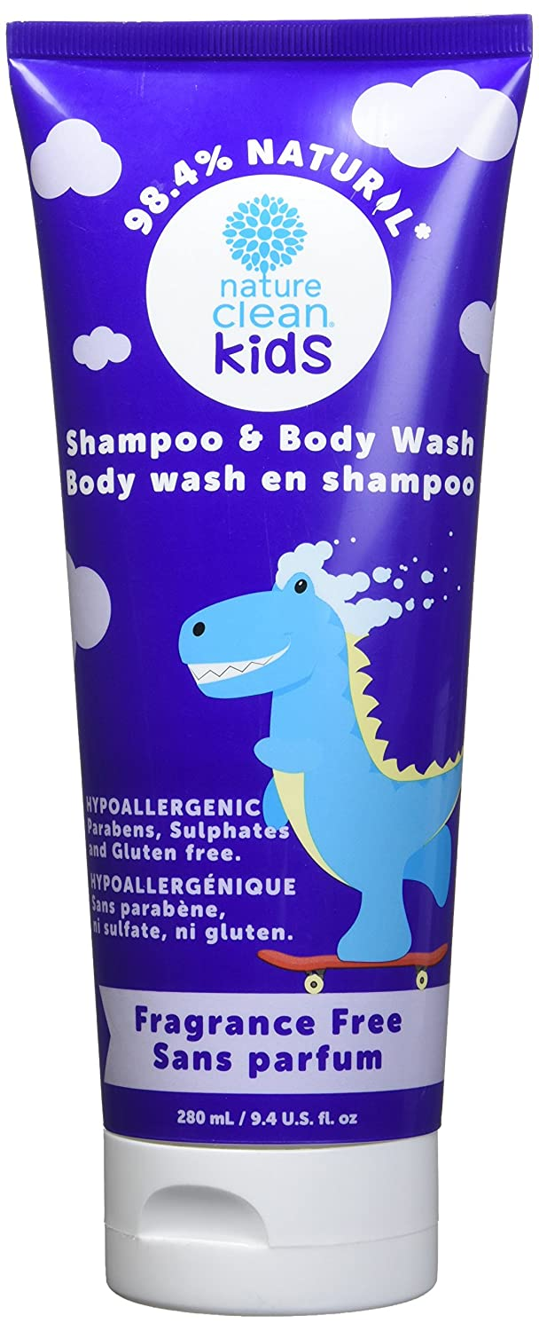 Nature Clean Kids Shampoo & Body Wash, 1 Count, 0.32 Kg P8K71