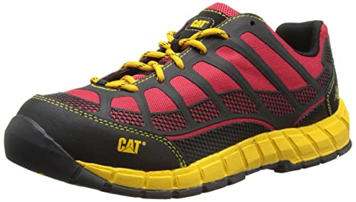 Cat Footwear Streamline CT S1P - Zapatos de Seguridad para Hombre, Color Rot (True