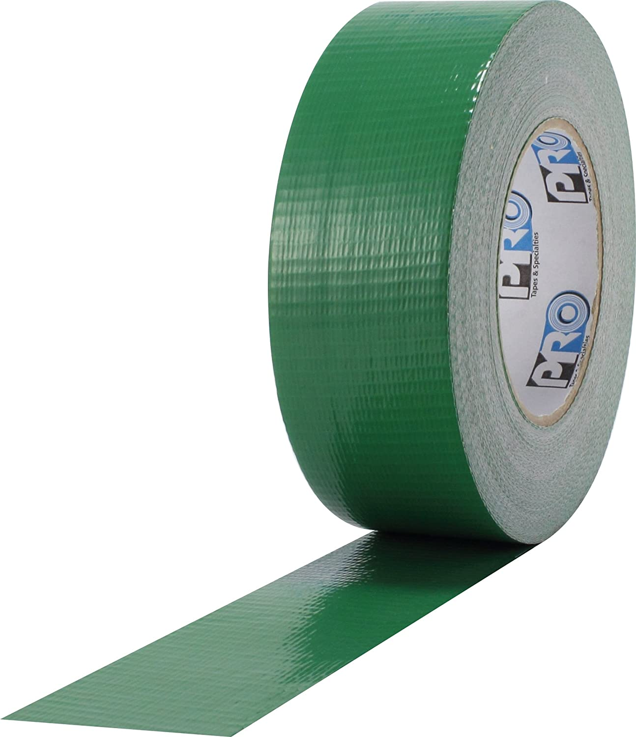 """ProTapes Pro Duct 110 PE-Coated Cloth General Purpose Duct Tape, 60 yds Length x 3"""" Width, Green (Pack of 1)"""