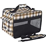 Petper Soft Sided Carrier Pet Cat & Dog Carrying Handbag