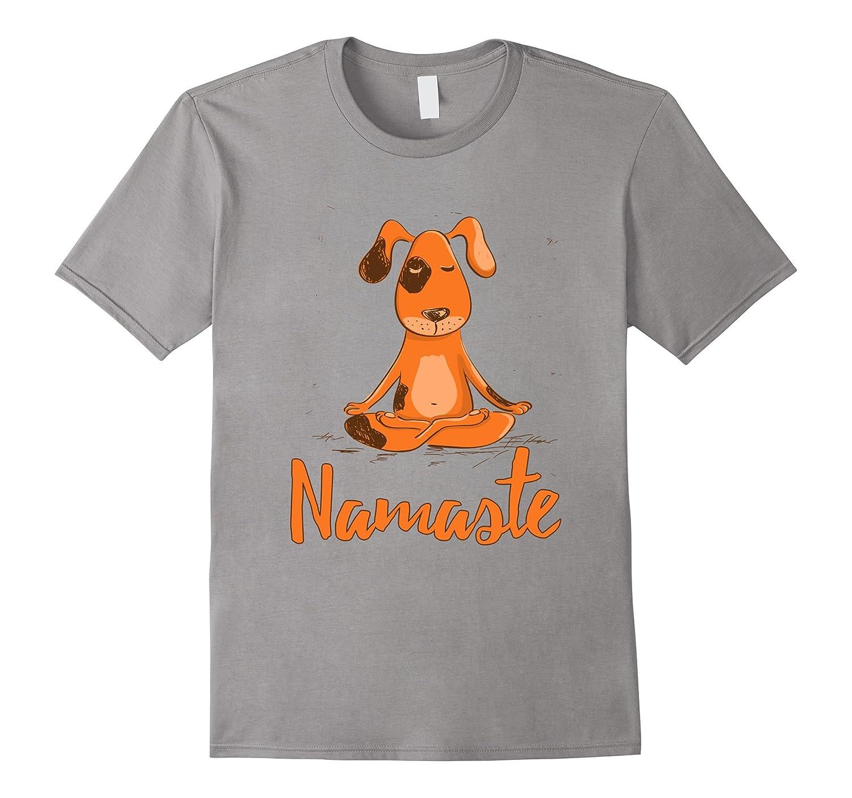 Yoga Dog Namaste Inner Peace T-Shirt-TH
