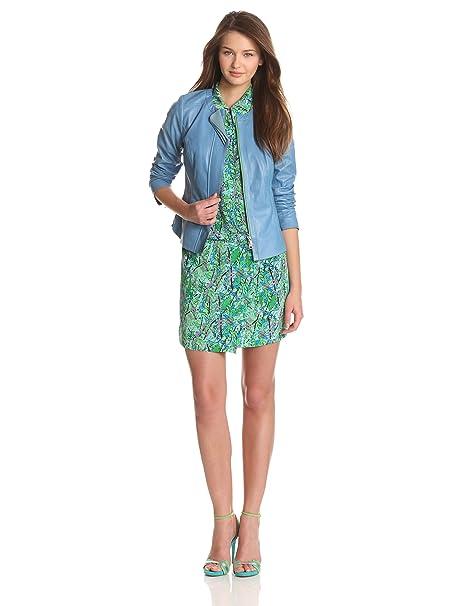 Amazon.com: Tracy Reese - Chaqueta de piel para mujer: Clothing